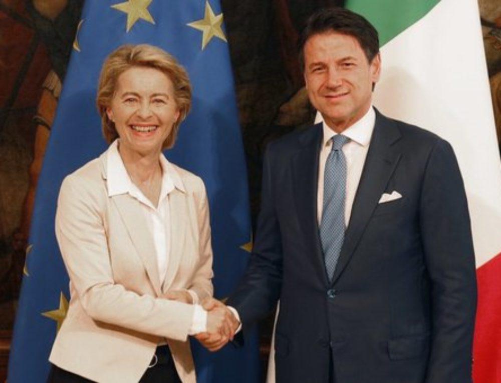 """""""PRIMO VIAGGIO ISTITUZIONALE DELLA PRESIDENTESSA COMMISSIONE EUROPEA URSULA VON DER LEYEN IN ITALIA!"""""""
