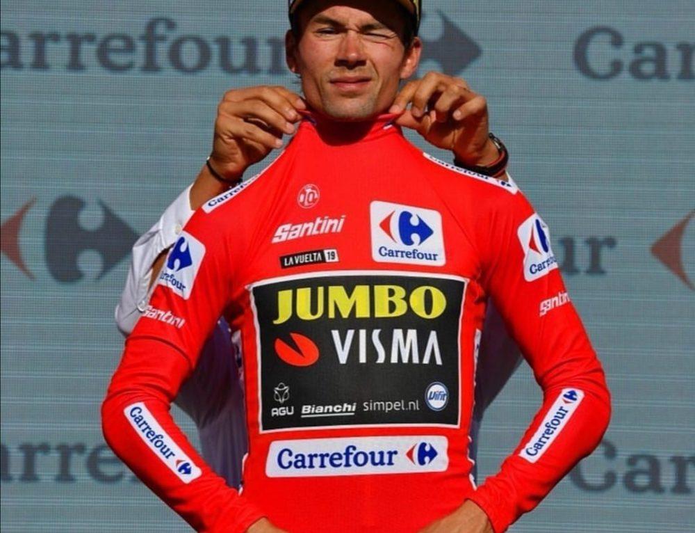 """"""" Vuelta 2019: la maglia rossa della Vuelta è di Roglic!"""""""