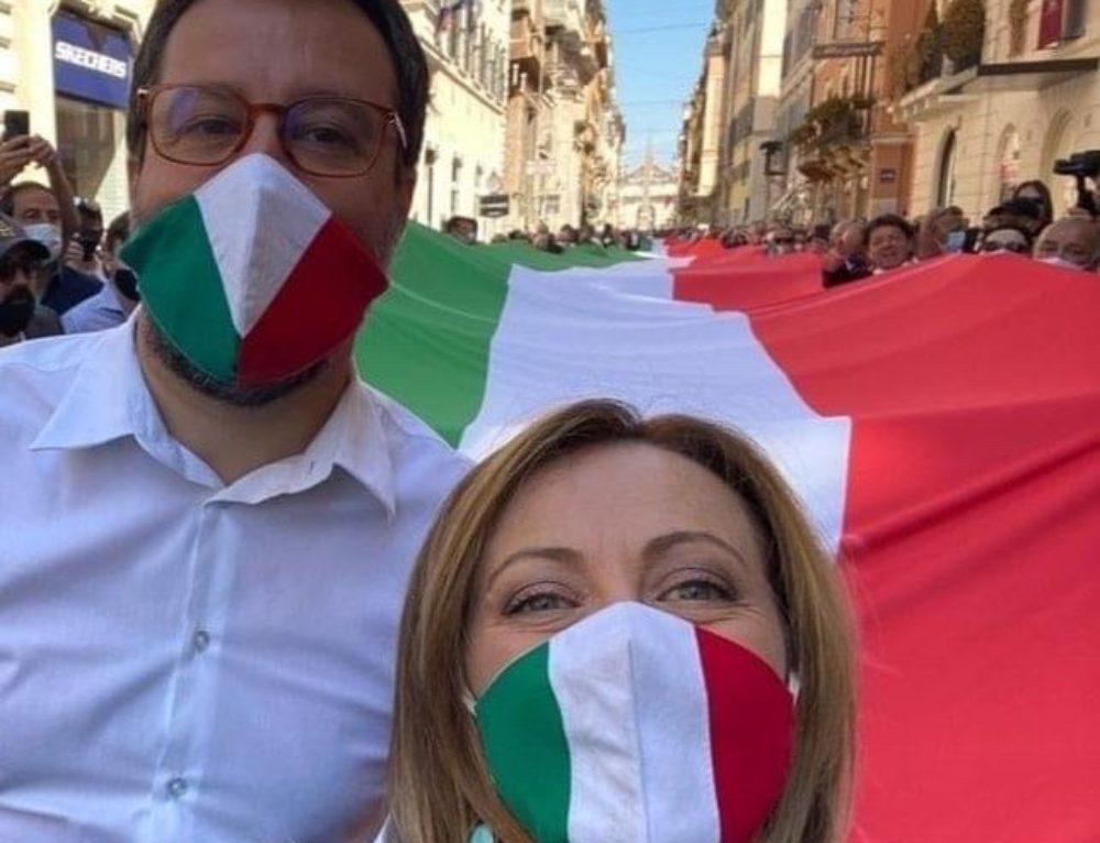 """"""" MANIFESTAZIONE CENTRODESTRA UNITO IN PIAZZA A ROMA!"""""""