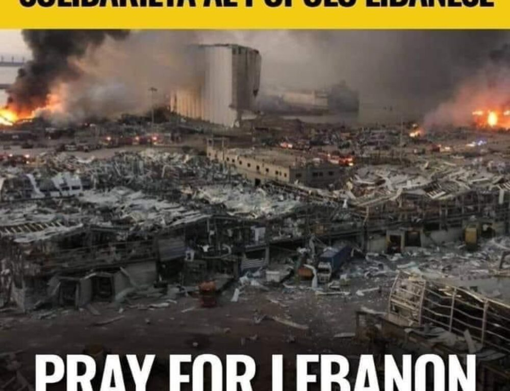 """ PRAY FOR LIBANO!"""
