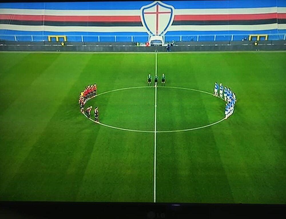 """ TIM CUP SAMPDORIA 1-3 GENOA , 2020/2021!"""