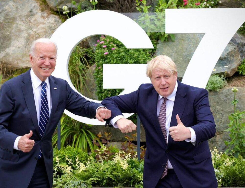 """G7: Incontro Inghilterra- Stati Uniti!"""