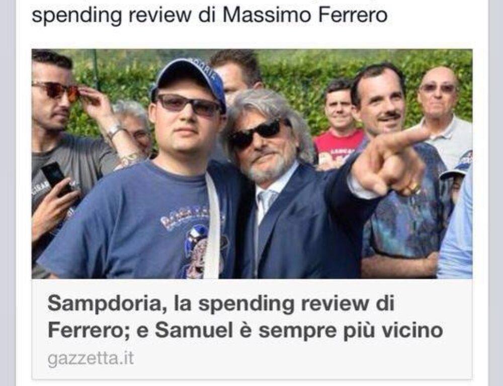 """""""E' un duro  attacco alla Stampa da parte di Massimo Ferrero-Viva la Libertà di Stampa!"""""""